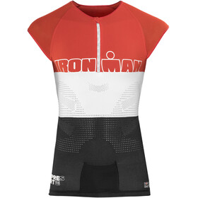 Compressport TR3 Ironman Edition rood/zwart